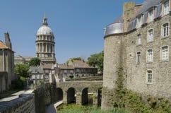 Vieille ville de Boulogne Image libre de droits