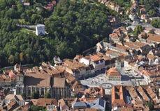 Vieille ville de Brasov Photo libre de droits