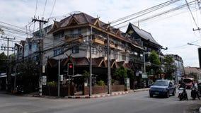 Vieille ville de Chiang Mai Image stock