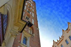 Vieille ville de Cracovie Photo stock