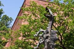 Vieille ville de Cracovie Image libre de droits