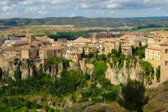 Vieille ville de Cuenca Images libres de droits