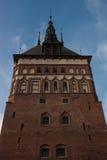 Vieille ville de Danzig en Pologne Photo libre de droits
