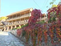 Vieille ville de Dilijan en Arménie Photo stock
