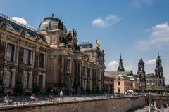 Vieille ville de Dresde Photographie stock libre de droits