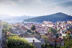 Vieille ville de Dubrovnik Image libre de droits