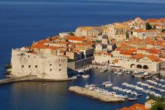 Vieille ville de Dubrovnik photos libres de droits