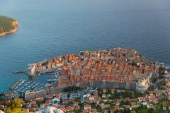 Vieille ville de Dubrovnik Image stock
