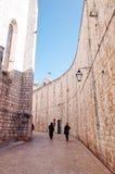 Vieille ville de Dubrovnik, DUBROVNIK, CROATIE photographie stock libre de droits