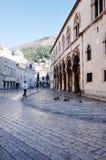 Vieille ville de Dubrovnik, DUBROVNIK, CROATIE photos stock