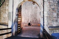 Vieille ville de Dubrovnik, DUBROVNIK, CROATIE photo stock