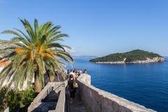 Vieille ville de Dubrovnik, Croatie image libre de droits