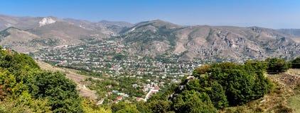 Vieille ville de Goris, Arménie Photo libre de droits