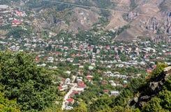 Vieille ville de Goris, Arménie Photographie stock