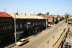 Vieille ville de Gyumri, Arménie image libre de droits