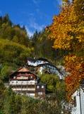 Vieille ville de Hallstatt, Autriche image stock