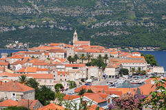 vieille ville de korcula Photo stock