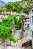 Vieille ville de Kotor Photos libres de droits