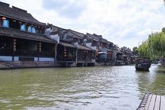 Vieille ville de l'eau en Chine orientale photographie stock