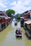 Vieille ville de l'eau en Chine orientale - photos libres de droits