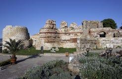 Vieille ville de la Bulgarie Nessebar Image libre de droits