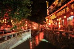 Vieille ville de Lijiang Photographie stock libre de droits