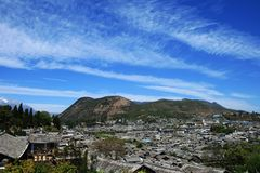 Vieille ville de Lijiang Photographie stock
