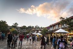 Vieille ville de Lijiang, province de Yunnan, Chine photographie stock libre de droits