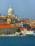 Vieille ville de Lisbonne, Portugal Photographie stock