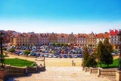 Vieille ville de Lublin Photographie stock libre de droits