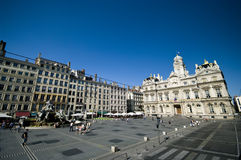 Vieille ville de Lyon image stock