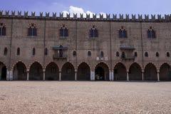Vieille ville de Mantova Photo libre de droits