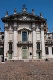Vieille ville de Mantova Photographie stock libre de droits