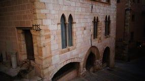 Vieille ville de Montblanc Photographie stock