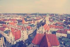 Vieille ville de Munich Photo stock