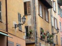 Vieille ville de Nice, France images libres de droits