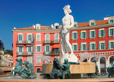 Vieille ville de Nice, France Image stock