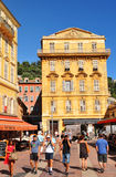 Vieille ville de Nice, Frances Photos stock