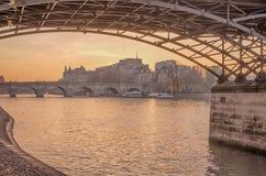 Vieille ville de Paris (Frances) Photos stock