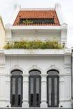 Vieille ville de Phuket : Bâtiments Sino-portugais d'architecture Ce style architectural est Européen mélangé à moderne chinois,  images stock