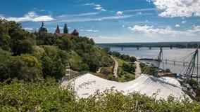 Vieille ville de Plock en Pologne Photographie stock libre de droits