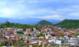 Vieille ville de Plovdiv Image libre de droits