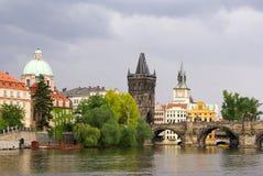 Vieille ville de Prague, République Tchèque Image libre de droits