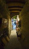 Vieille ville de Rhodes images stock