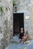 Vieille ville de Rhodes photographie stock libre de droits