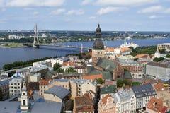 Vieille ville de Riga Image libre de droits
