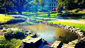 Vieille ville de Riga Images stock