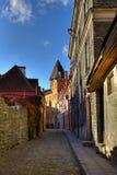 vieille ville de rue Image libre de droits