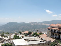 Vieille ville de Safed les toits 2008 Image stock