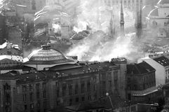 Vieille ville de Sarajevo Photographie stock